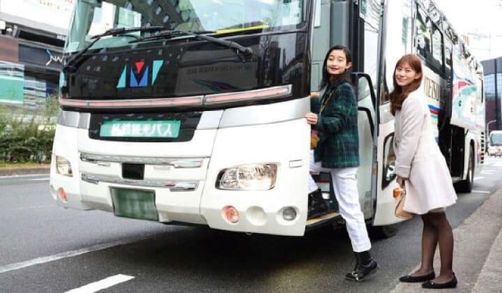 從京都站和新大阪站,您可以輕鬆乘坐旅遊巴士前來!